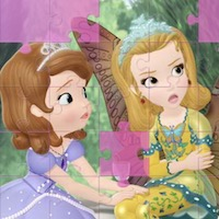 Sofia And Friends Jigsaw Puzzle