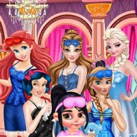 Vanellope And Princesses Movie Party